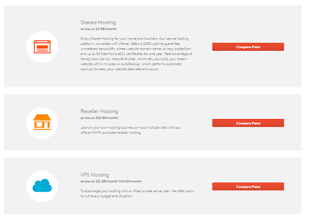 Namecheap Hosting Plan