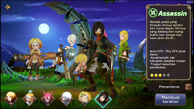 Total Size Game MMORPG Android Dragon Nest M-SEA Indonesia