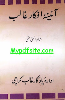 Aina e afkar ghalib by shanul-haq-haqqi