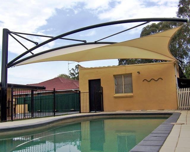 canopy membran kolam renang