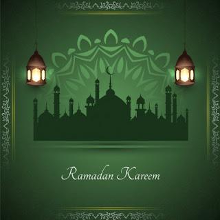 background ramadhan hijau - kanalmu