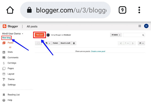 how to create a free blog website