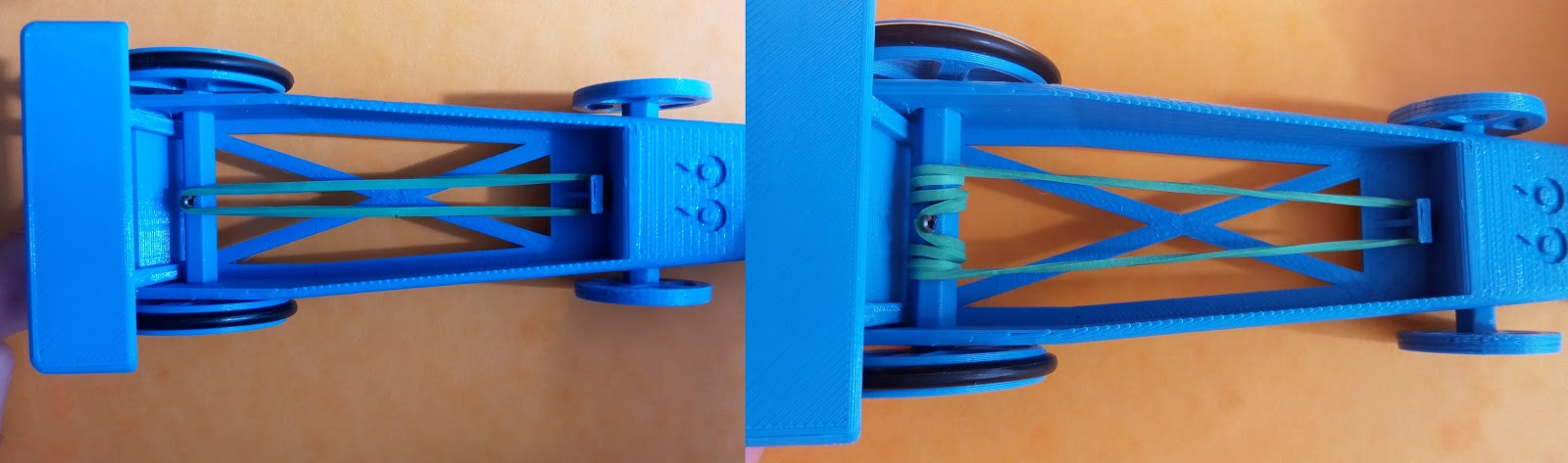 Juguete Coche De El Goma Car 3dRubber Impulsado Una Brico Por F1JTl3Kc