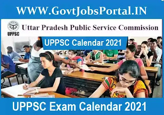UPPSC Exam Dates 2021