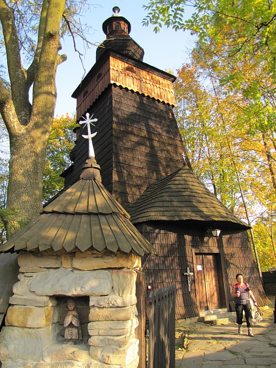 Cerkiew św. Jakuba Apostoła w Powroźniku.