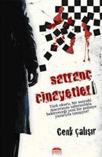 Polisiye kitap Satranç Cinayetleri Cenk Çalışır