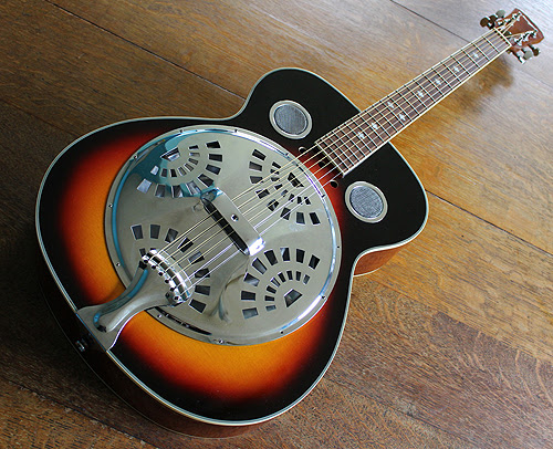 Martin Smith Acoustic round neck resonator guitar