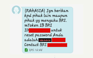 Sms lupa password 8