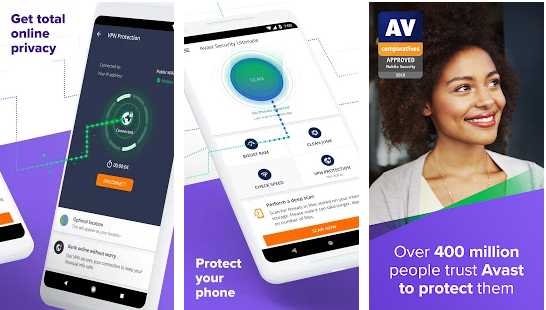 Mobile Security & Antivirus from Avast