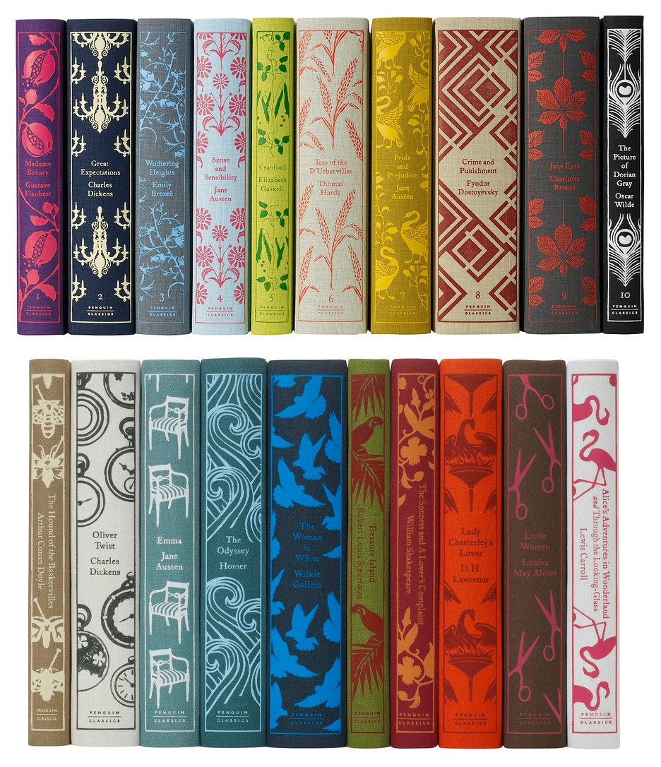 spine classics penguin books clothbound classic fine covers spines novels covered hardback hardcover children hard pretty designs editions cloth hardbound
