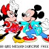 Minnie and Mickey Dancing Free SVG