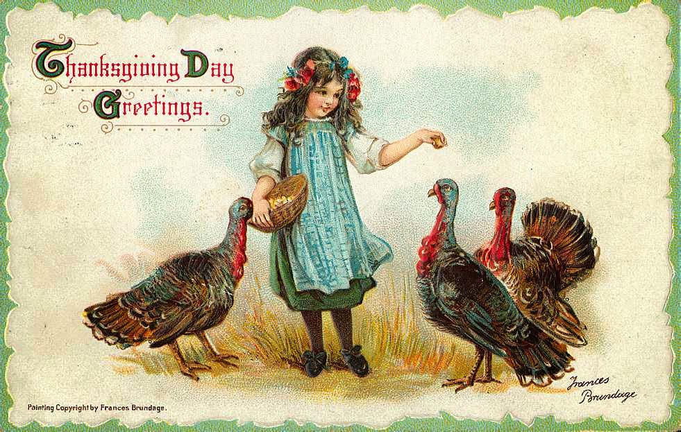 20 Funny And Cute Vintage Thanksgiving Postcards Everyday