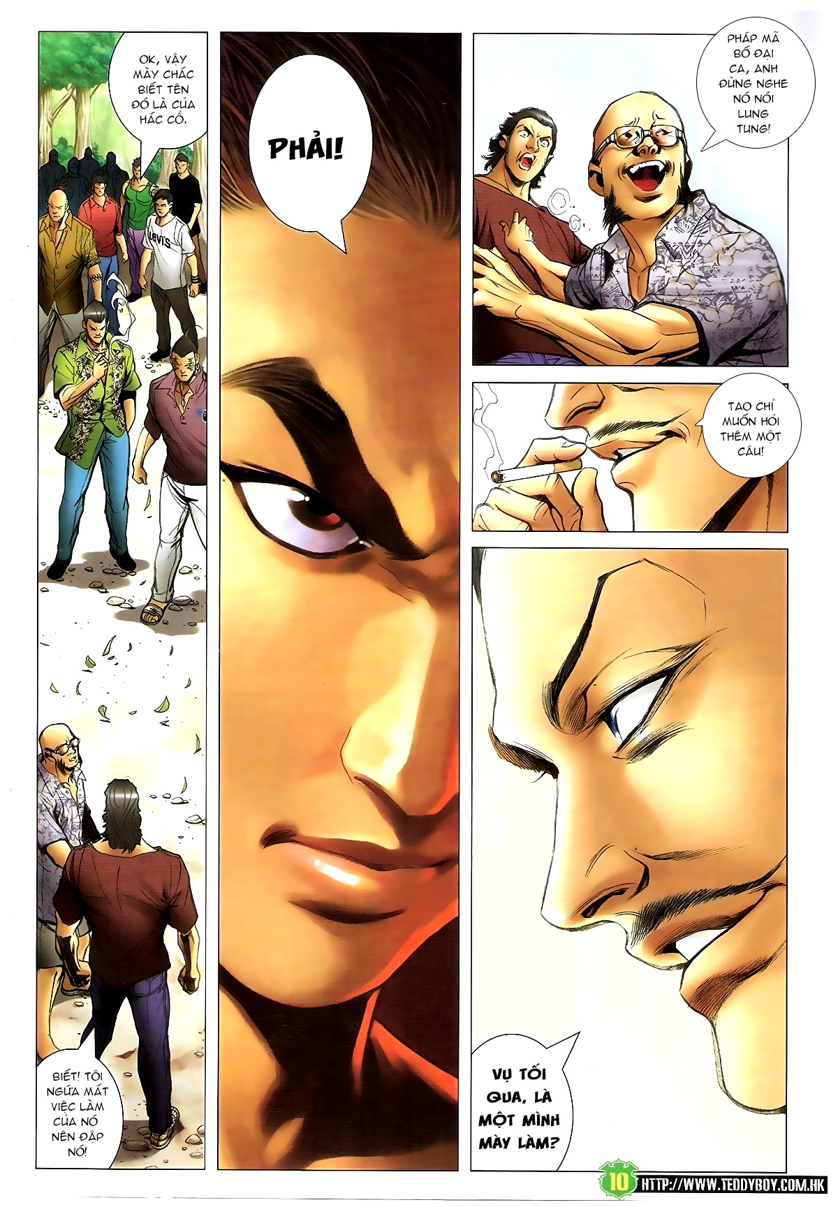 Người Trong Giang Hồ - Chapter 1395: Phiên bản Đại Phi - Pic 7