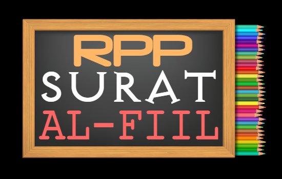 RPP PAI Kelas 5 Semester 2 Tahun 2020/2021, Materi Mari Belajar Alquran Surat Al-Fiil