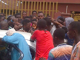 Photos: Singer Small Doctor Beaten Up In Agege
