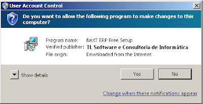 NeXT ERP Code Signing Windows