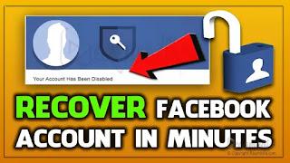Cómo recuperar una cuenta de Facebook inhabilitada