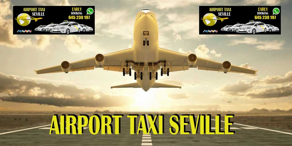 taxi airport seville