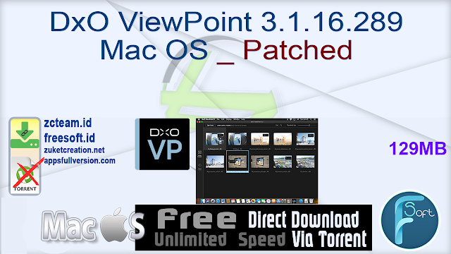 DxO ViewPoint 3.1.16.289 Mac OS _ Patched_ ZcTeam.id
