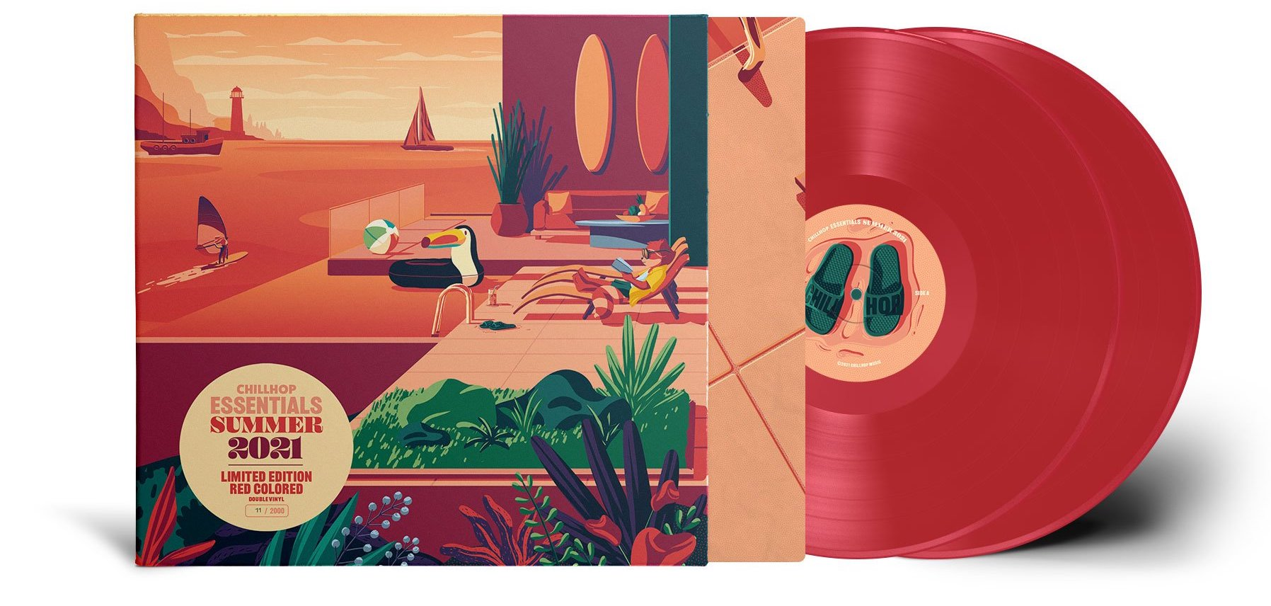 Chillhop Essentials - Summer 2021 Vinyl