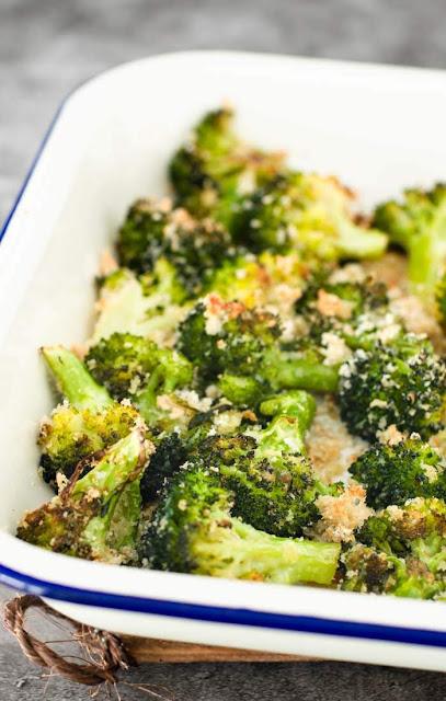 Parmesan roasted broccoli image