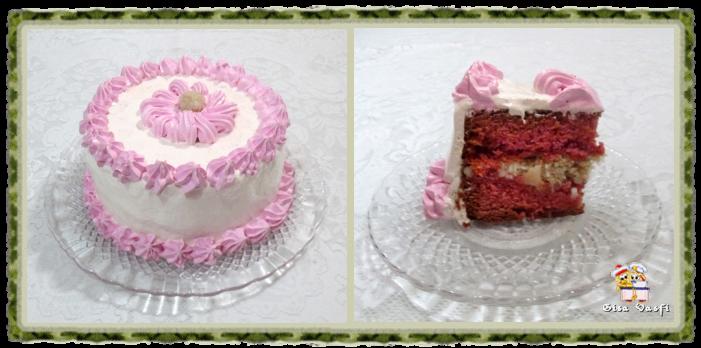 Bolo e cupcake de groselha com beijinho de coco 4