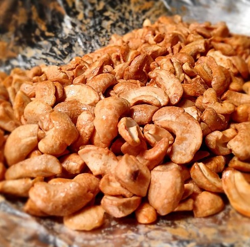 Toasted Cashews Recipe