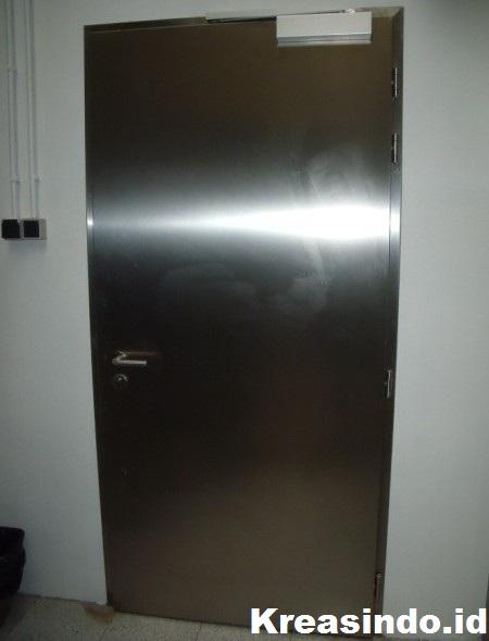 Pintu Gudang Atau Panel Stainless Masa Kini Paling Recomended