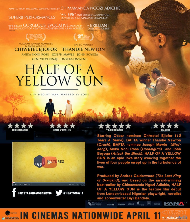 "TEDxEuston: What ""Half Of A Yellow Sun"" Means To Me, Means"