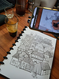 Zentangle Rumah