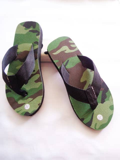 Sandal Loreng Spon Anak BJG | Grosir Sandal Anak Murah
