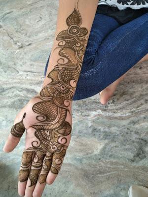 arabian mehndi ki design full hand