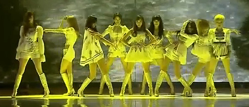 Girls' generation perform 'The boys' @ the 2011 MAMA's | Live performance