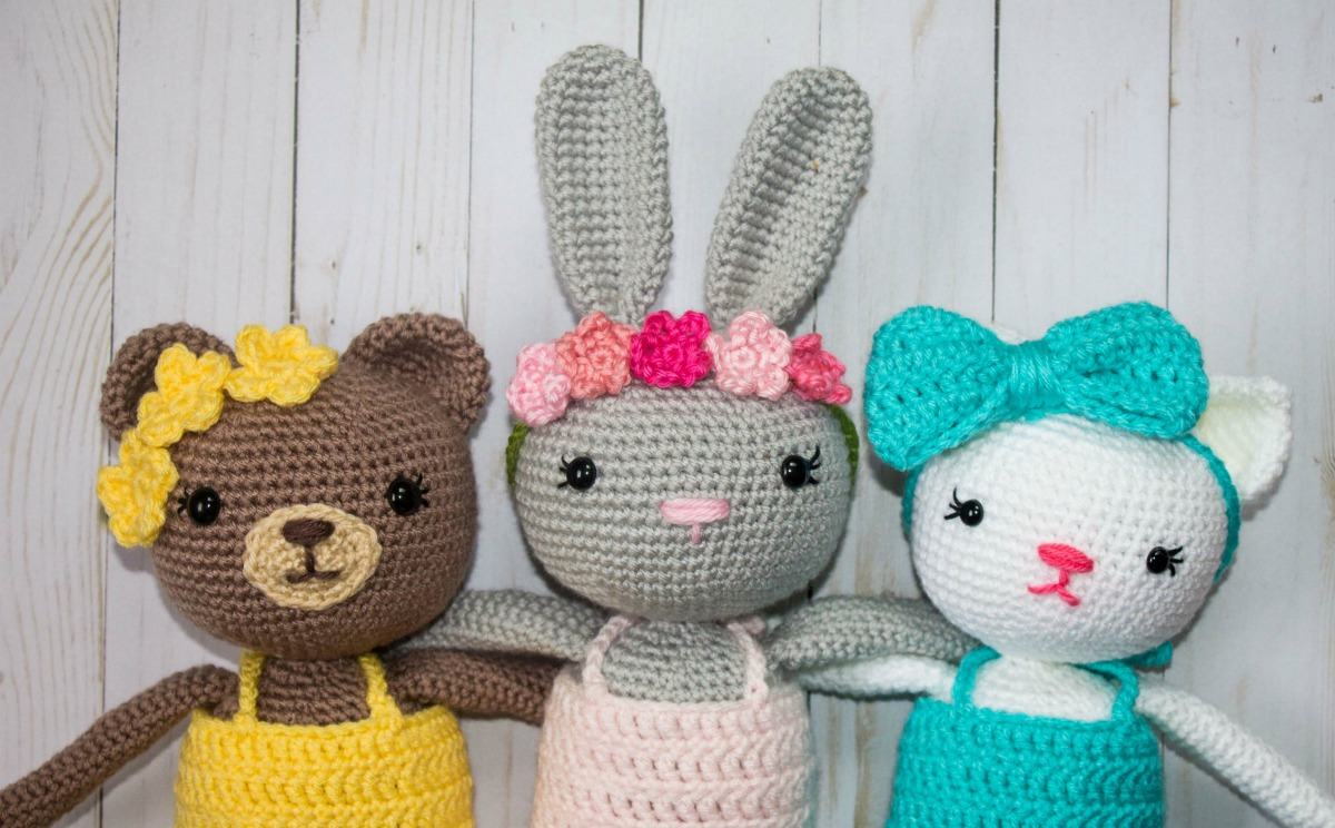 Free pattern of the small cats | Amigurumi and crochet patterns ... | 744x1200