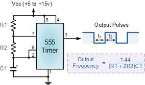 555 Timer Calculator - Frequency and Duty Cycle - Rough Record