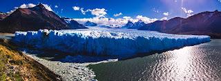 Panorama Glaciar Perito Moreno Parque Nacional de los Glaciares Calafate