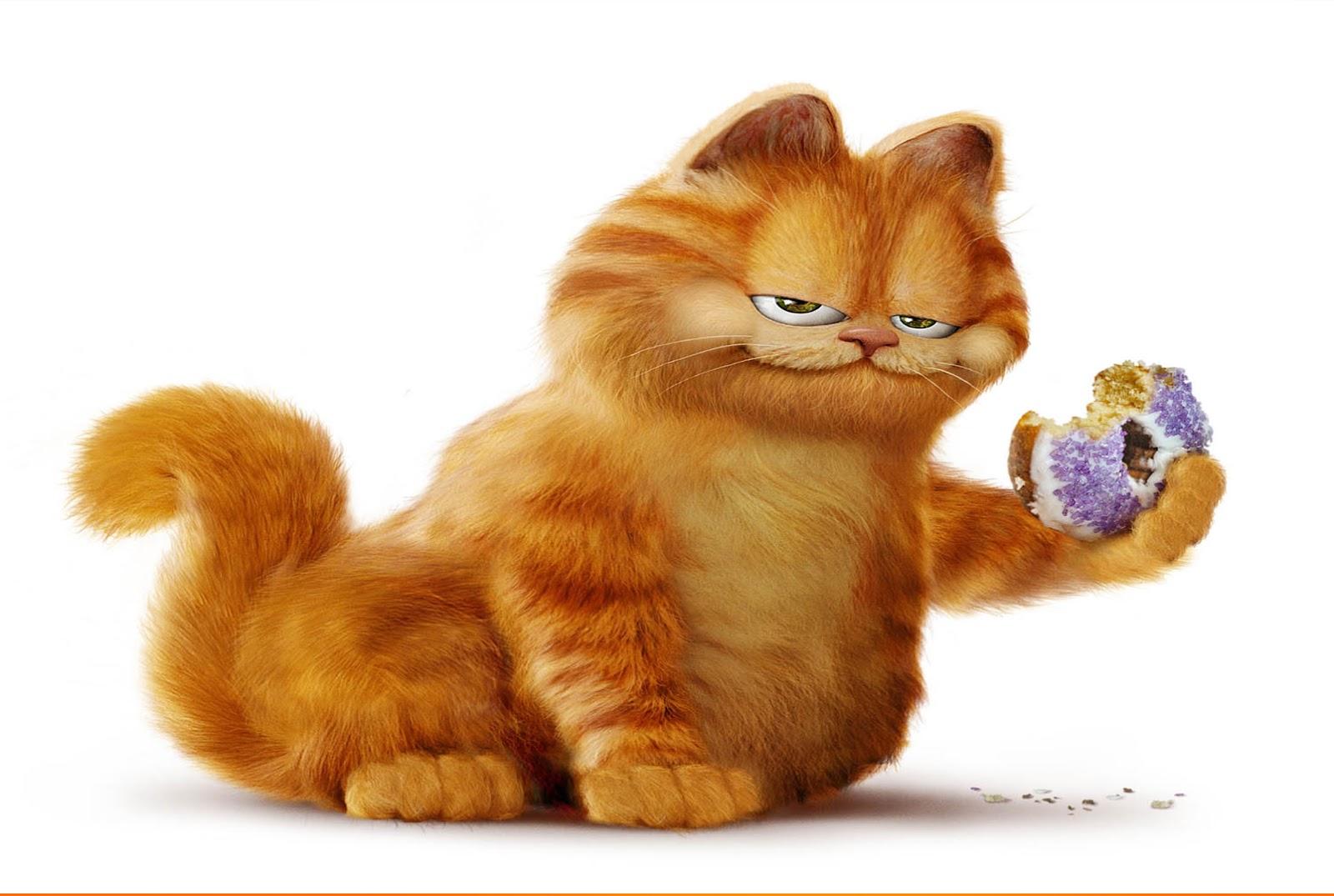 Wallpaper Lucu Gambar Kucing Garfield Terbaru 2016  Kata