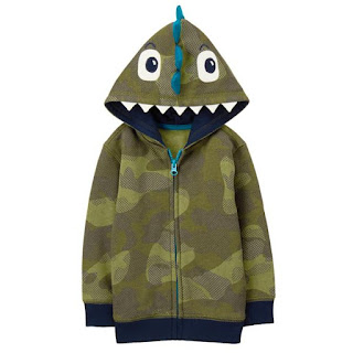 toddler dino hooded sweatshirt