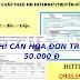 Vay tín chấp theo Hóa đơn truyền hình cáp, internet tại Đà Nẵng