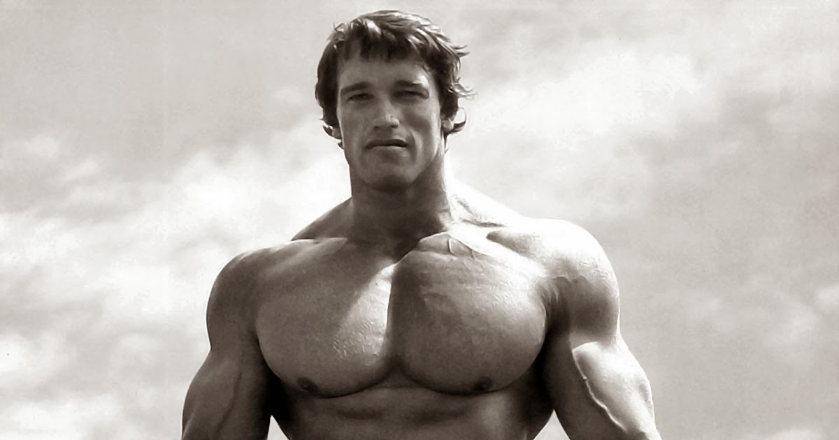 Exercises chest muscles Arnold Schwarzenegger. (pictures ...