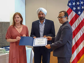 Essar Shipping recognised by US Coast Guard's AMVER Award Programme