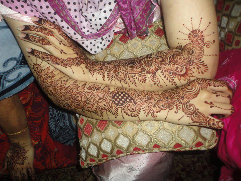 Full Arm Mehndi Designs : Indian mehndi designs 2013 for girls fashion centar
