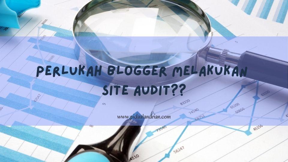 Perlukah Blogger Melakukan Site Audit?
