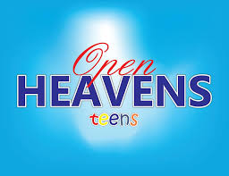 OPEN HEAVEN FOR TEENS 30 MAY 2020 SATURDAY: ARE YOU A CLEAN APPRENTICE?