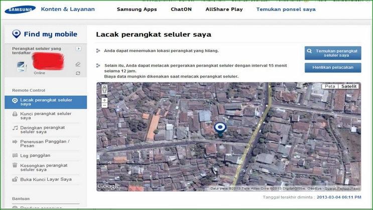 Melacak Perangkat Samsung Terbaru - Cara Melacak HP Samsung Galaxy Yang Hilang Dicuri Secara Cepat Dan Akurat + Video Tanpa GPS dan Internet