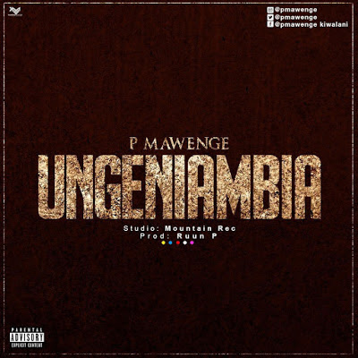 P Mawenge (P The Mc) - Ungeniambia (Official Audio) Mp3 Download