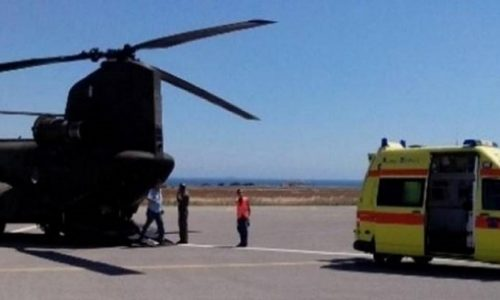 Σε ετοιμότητα τέθηκε το Πανεπιστημιακό Νοσοκομείο Ιωαννίνων καθώς γίνεται αεροδιακομιδή από την Ζάκυνθο, πολύ βαριά τραυματισμένου αστυνομικού.