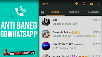 Descargar GBWhatsapp Ultima Version 2019 con Anti Baneo