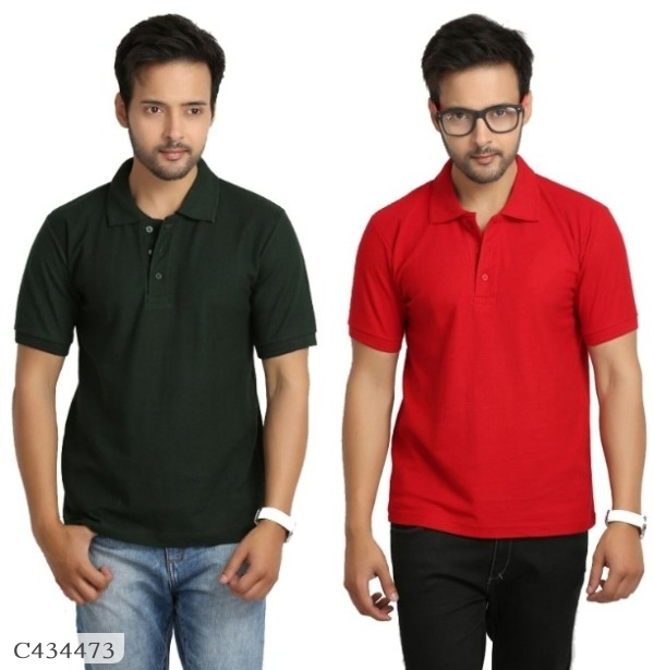 Buy 1 Get 1 Free Mens Cotton Half Sleeves T-Shirt Online Shopping In India | Mens T-shirt Pack of 2 Online Shopping | T-shirt For Men Online |