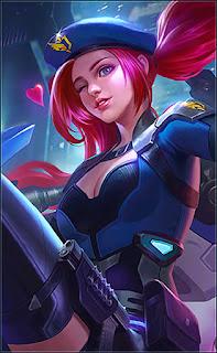 Layla SABER SQUAD Breacher Heroes Marksman of Skins V4
